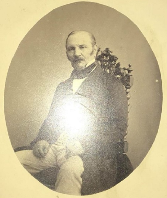 Fotografía de Allan Kardec, (Librairie Leymarie) (Séc. XIX)