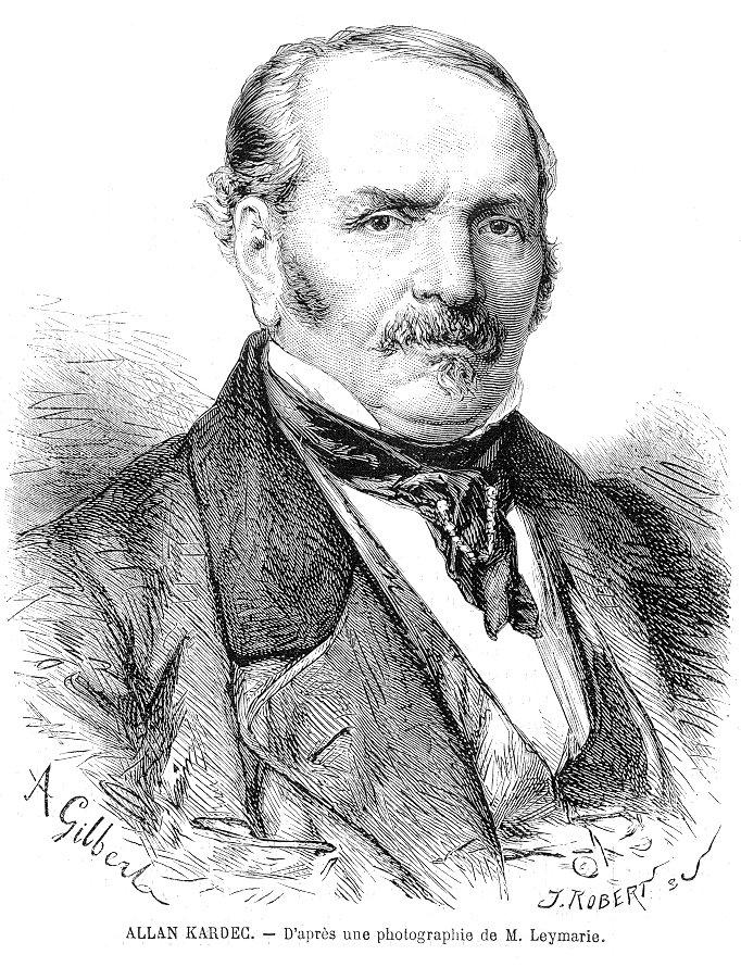 Retrato de Allan Kardec 3, Revue L'Illustration abril 1869 - (XIX)