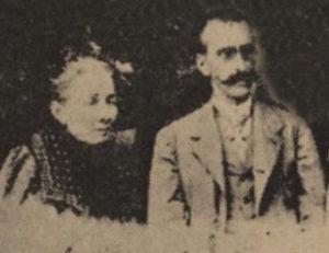 Amalia Domingo Soler junto a Jacinto Esteva Marata, dos de los grandes amigos del alma de Miguel Vives
