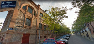 Panorámica de la Calle Miguel Vives