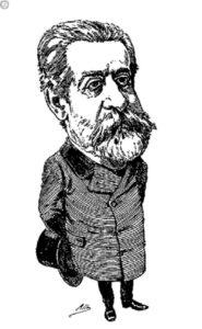 Caricatura Anastasio García López