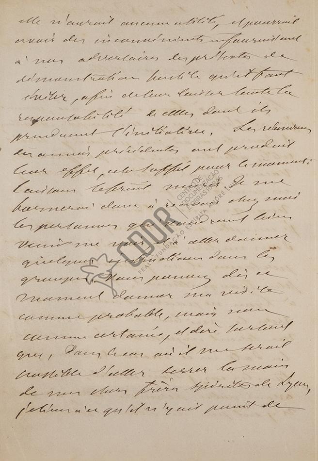 Carta de Allan Kardec a Villon 25-07-1863 Página 2