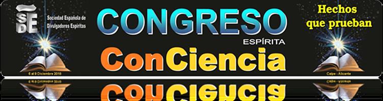 Congreso Espírita Conciencia 2018