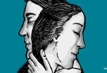 Ilustración el poder curativo del abrazo