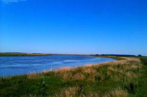 Vista del río Salado