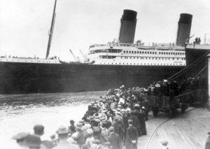 Embarque del Titanic