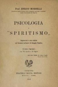 Psicología y Espiritismo de Enrico Morselli