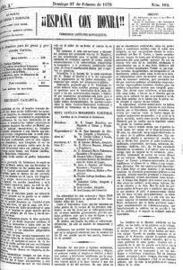 Ejemplar de España con Honra