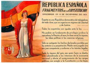 Fragmentos de la Constitución de 1931