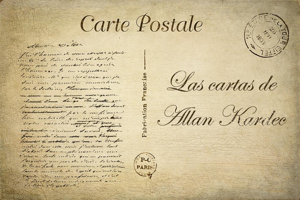 Ilustración de las cartas de Allan Kardec