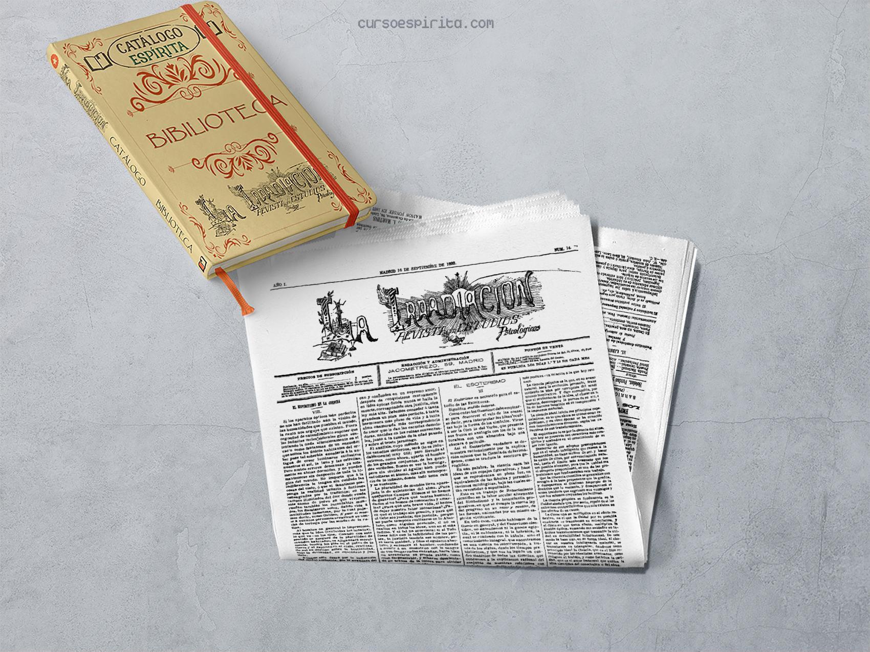 Ilustración Revista La Irradiación, Revista de Estudios Psicológicos