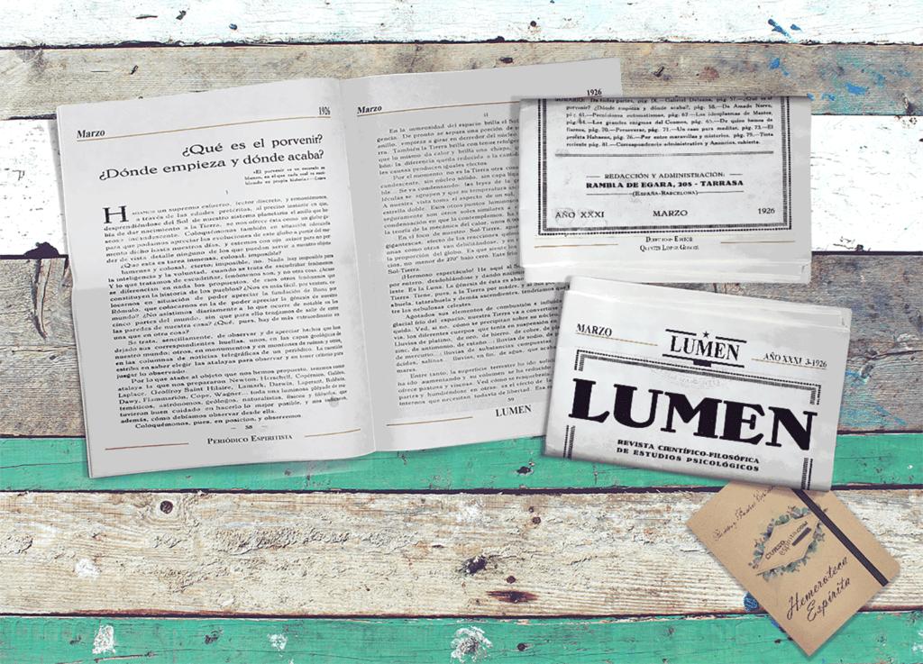 Imagen Lumen Revista y Periódico Espiritista
