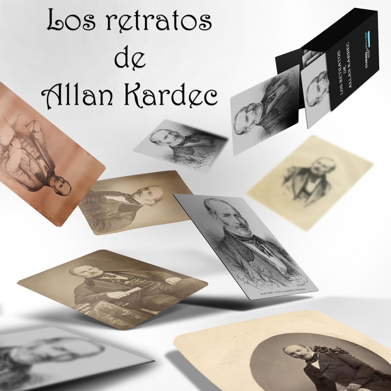Imagen los retratos de Allan Kardec