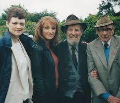 Jane Seymour junto a Jenny Cockell