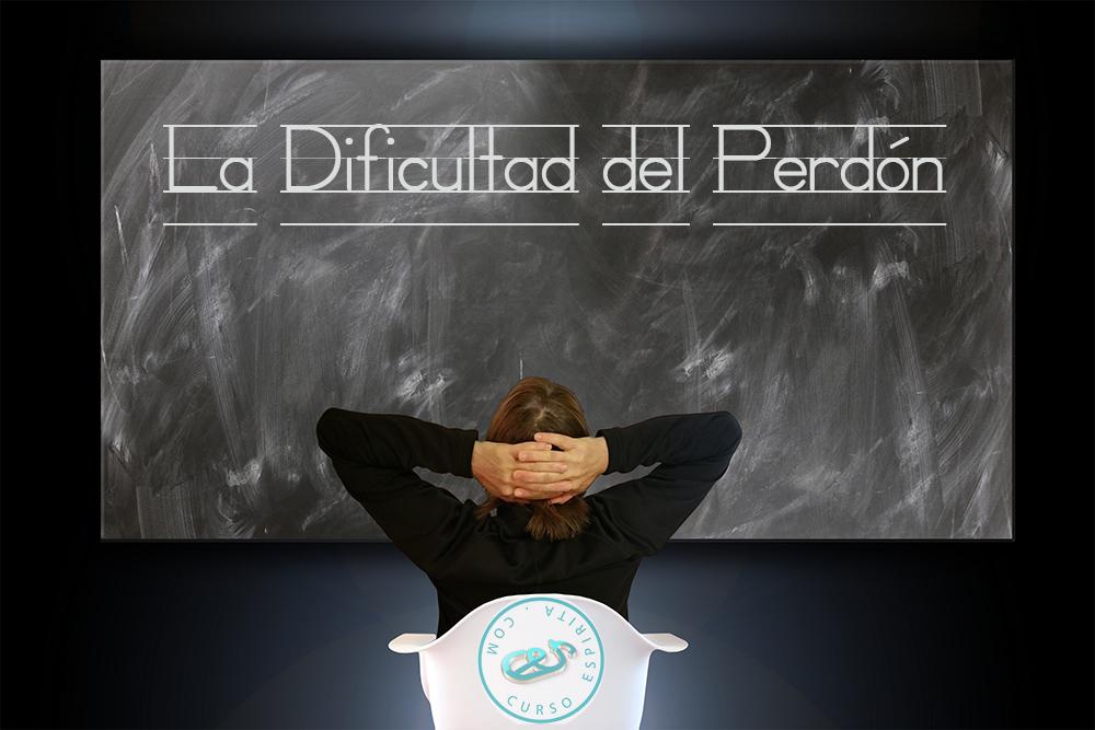 Ilustración de la conferencia la Dificultad del Perdón
