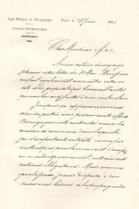 Carta de Léon Denis