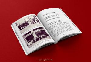 Páginas interiores del libro del 5º Congreso Espiritista Internacional