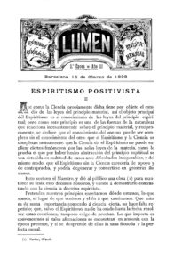 Lumen, Año III, tercera época