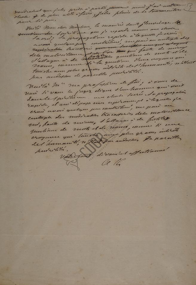 Carta de Allan Kardec a Thiry 03-05-1861 Página 3