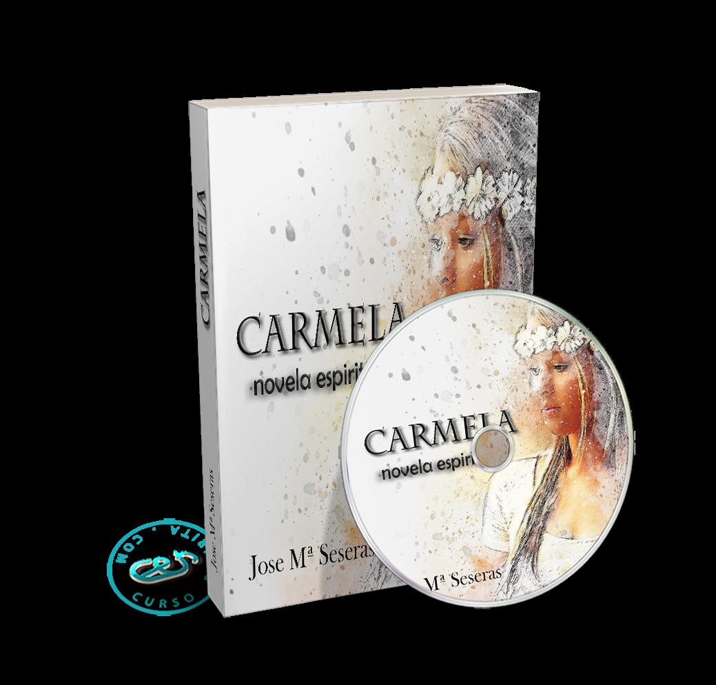 Portada Audiolibro Carmela, novela espiritista por Jose María Seseras y de Batlle