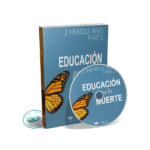 Portada Audiolibro Educación para la Muerte por J. Herculano Pires