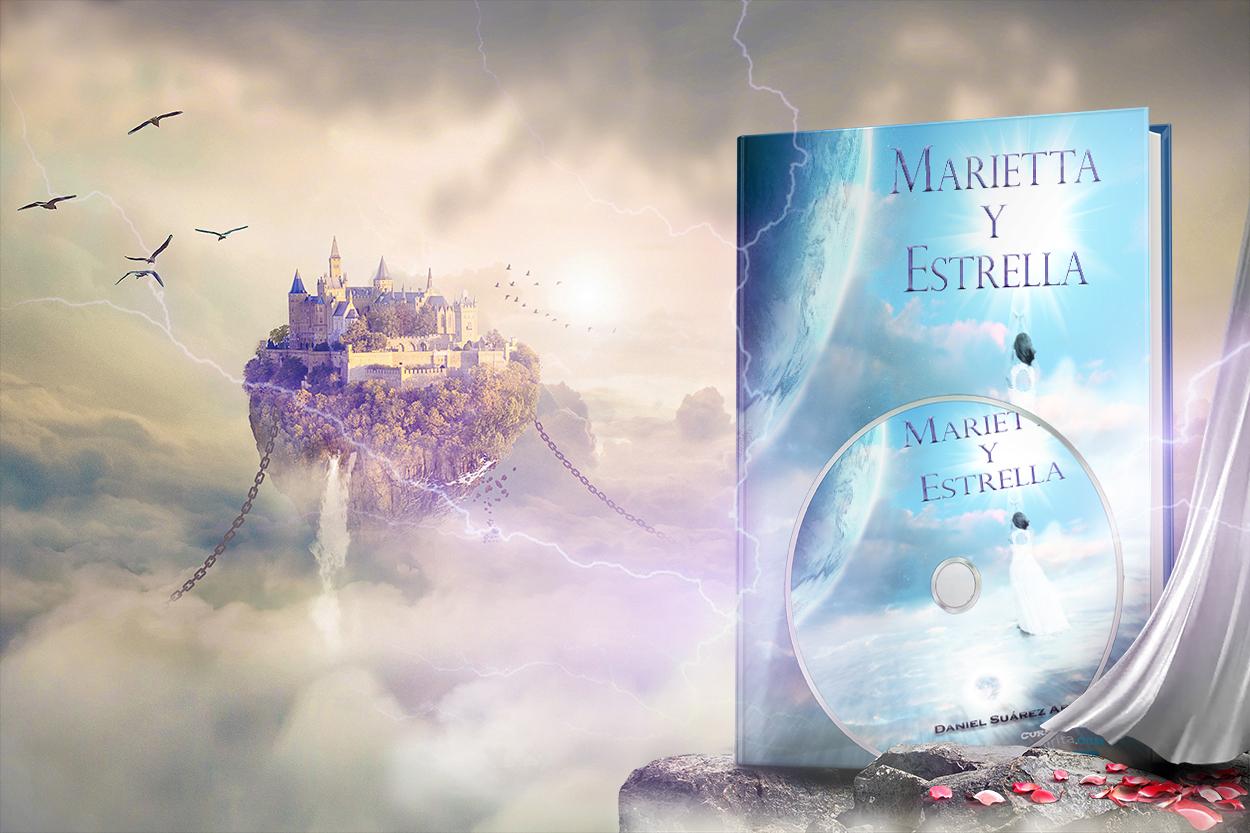 Portada Audiolibro Marietta y Estrella (páginas de ultratumba de dos existencias)