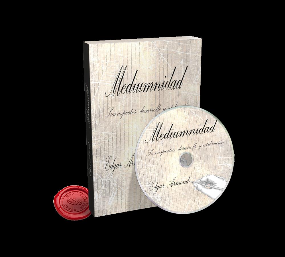 Portada Audiolibro Mediumnidad por Edgard Armond