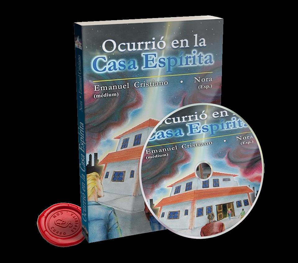 Portada Audiolibro Ocurrió en la Casa Espírita por Emmanuel Cristiano