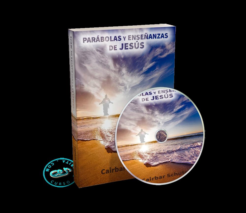 Portada Audiolibro Parábolas y Enseñanzas de Jesús por Cairbar Schutel