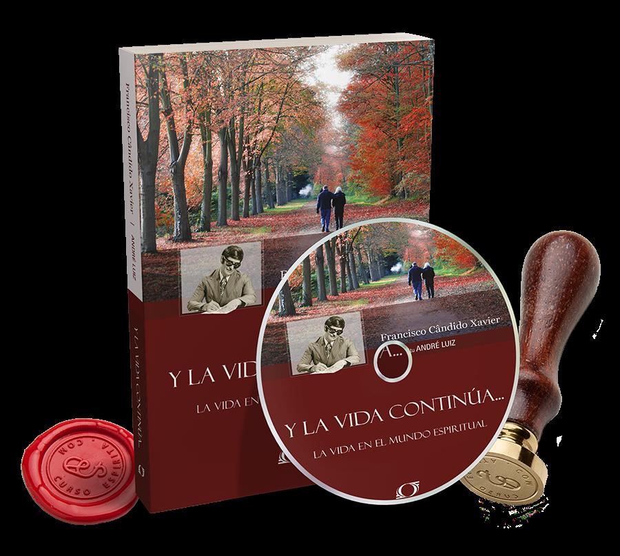 Portada Audiolibro Y la Vida Continúa... de André Luiz por Francisco Cándido Xavier