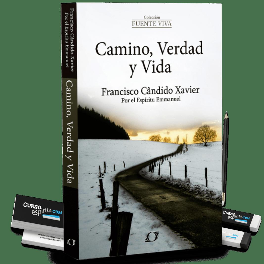Portada Camino, Verdad y Vida de Emmanuel a través de la mediumnidad de Francisco Cándido Xavier