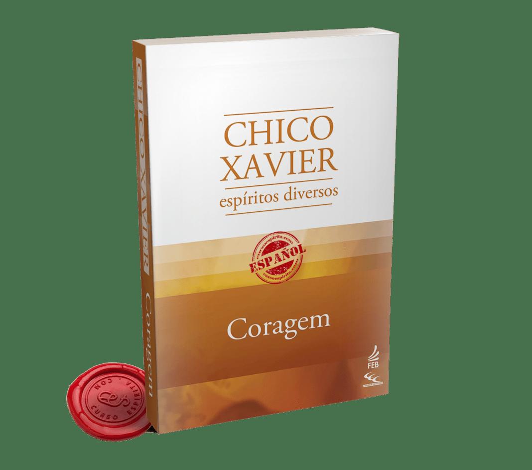 Portada Coraje psicografiado por Francisco Cándido Xavier