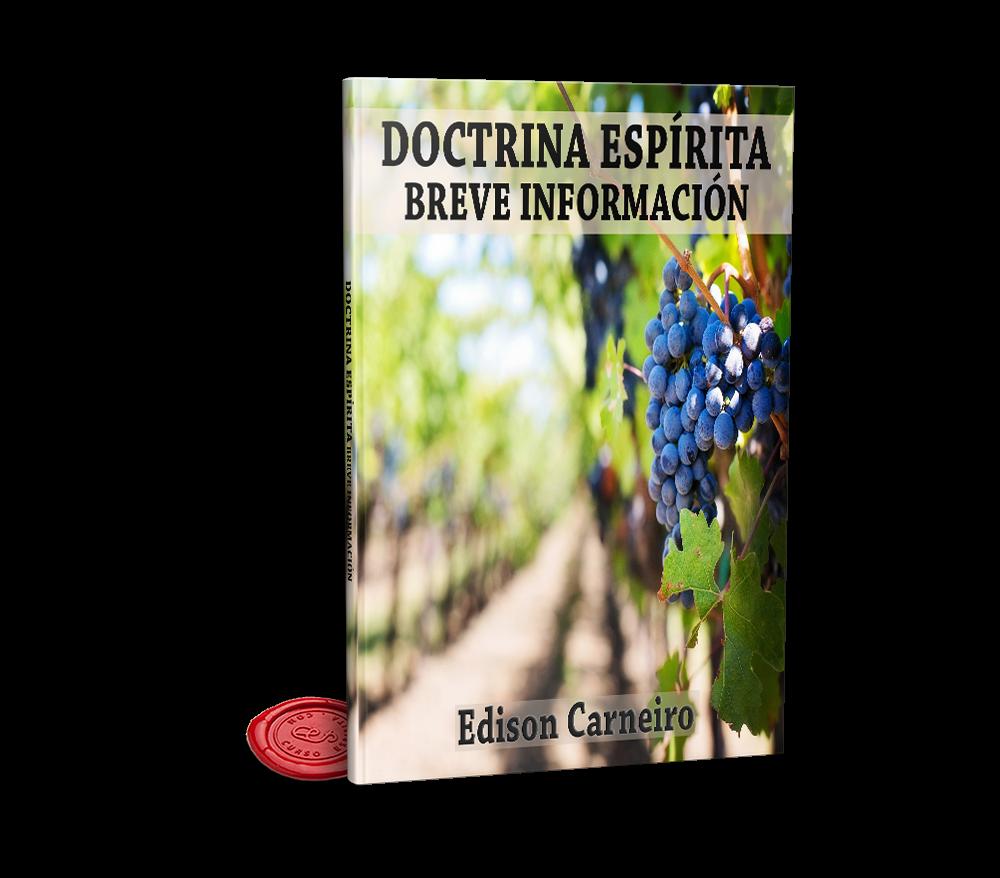 Portada Doctrina Espírita Breve Información por Edison Carneiro