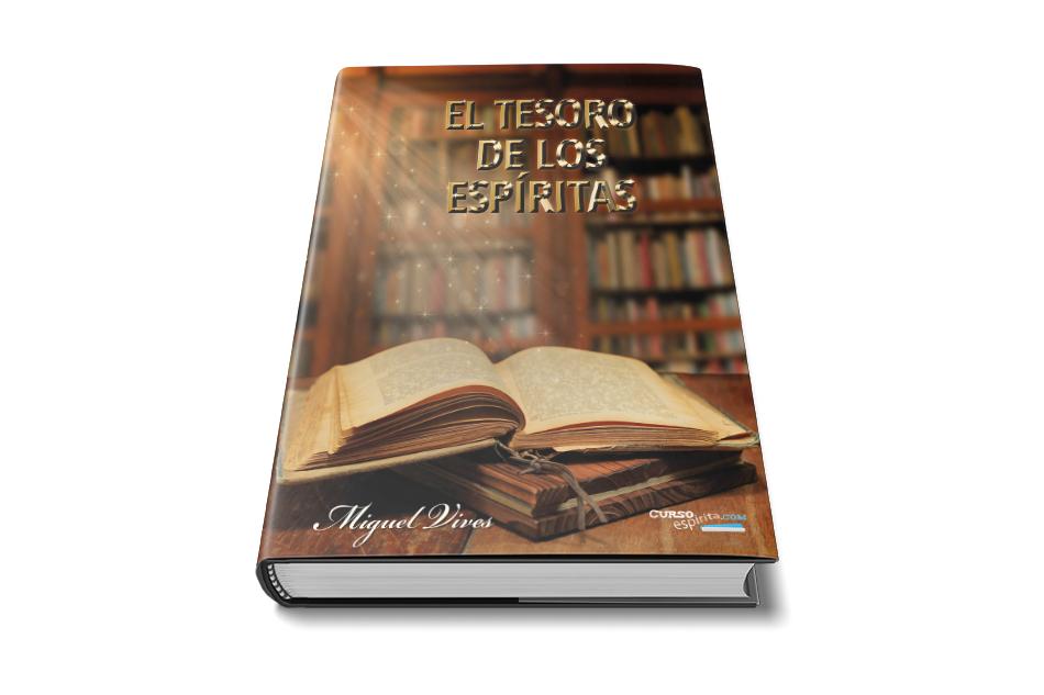 Portada El Tesoro de los Espíritas de Miguel Vives