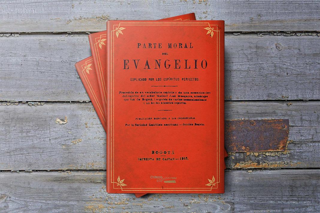 Portada Parte Moral del Evangelio explicado por los espíritus perfectos