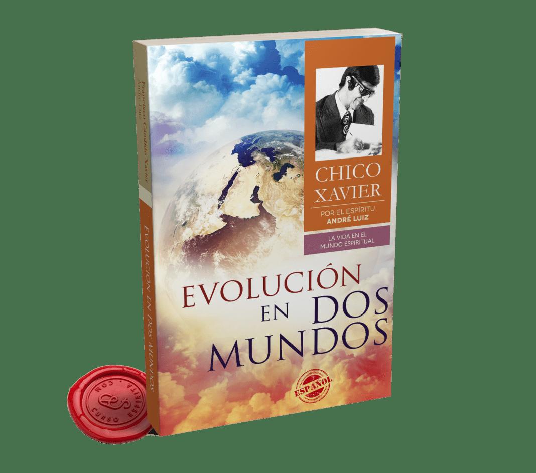 Portada Evolución en Dos Mundos del Espíritu André Luiz psicografiado por Francisco Cándido Xavier y Waldo Vieira