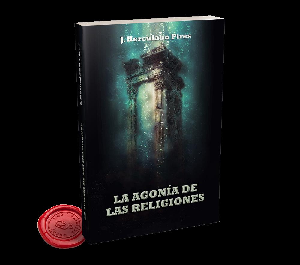 Portada La Agonía de las Religiones por J. Herculano Pires