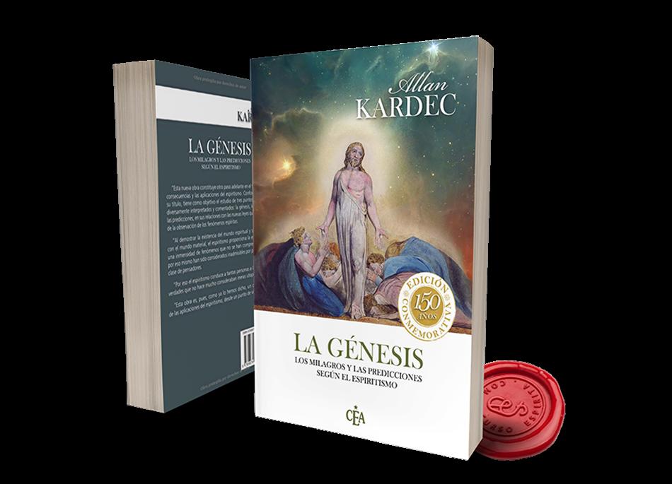 Portada La Génesis, los milagros y las predicciones según el Espiritismo por Allan Kardec en pdf