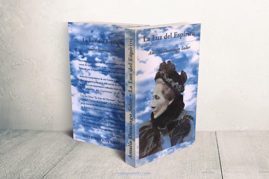 Portada La Luz del Espíritu por Amalia Domingo Soler