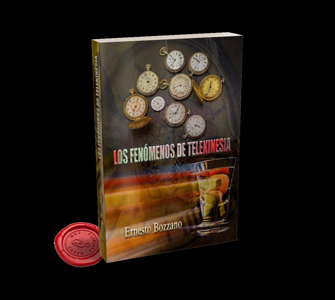 Portada Los Fenómenos de Telekinesia por Ernesto Bozzano