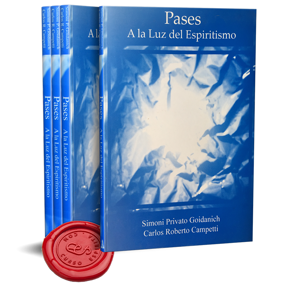 Portada Pases a la luz del Espiritismo en pdf