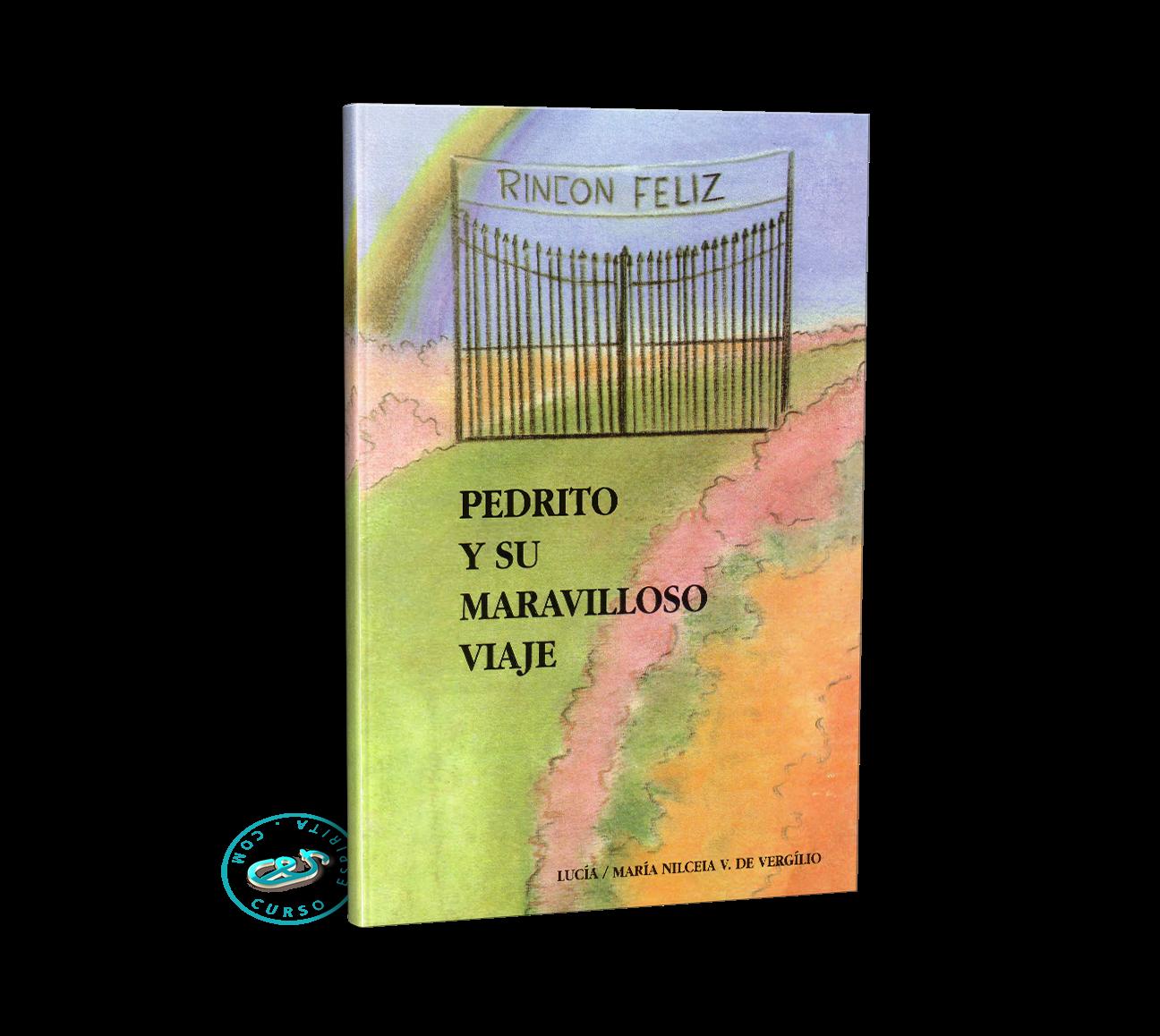 Portada Pedrito y su maravilloso viaje por la médium María Nilceia V . De Vergílio