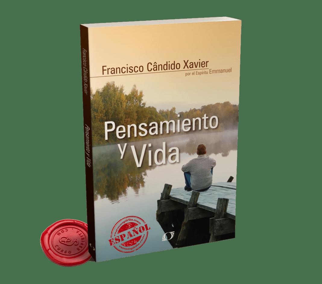 Portada Pensamiento y Vida por Emmanuel a través de la psicografía de Francisco Cándido Xavier