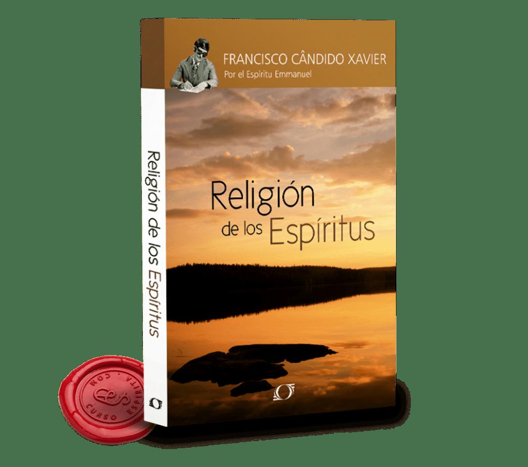 Portada Religión de los Espíritus por Emmanuel a través de la psicografía de Chico Xavier