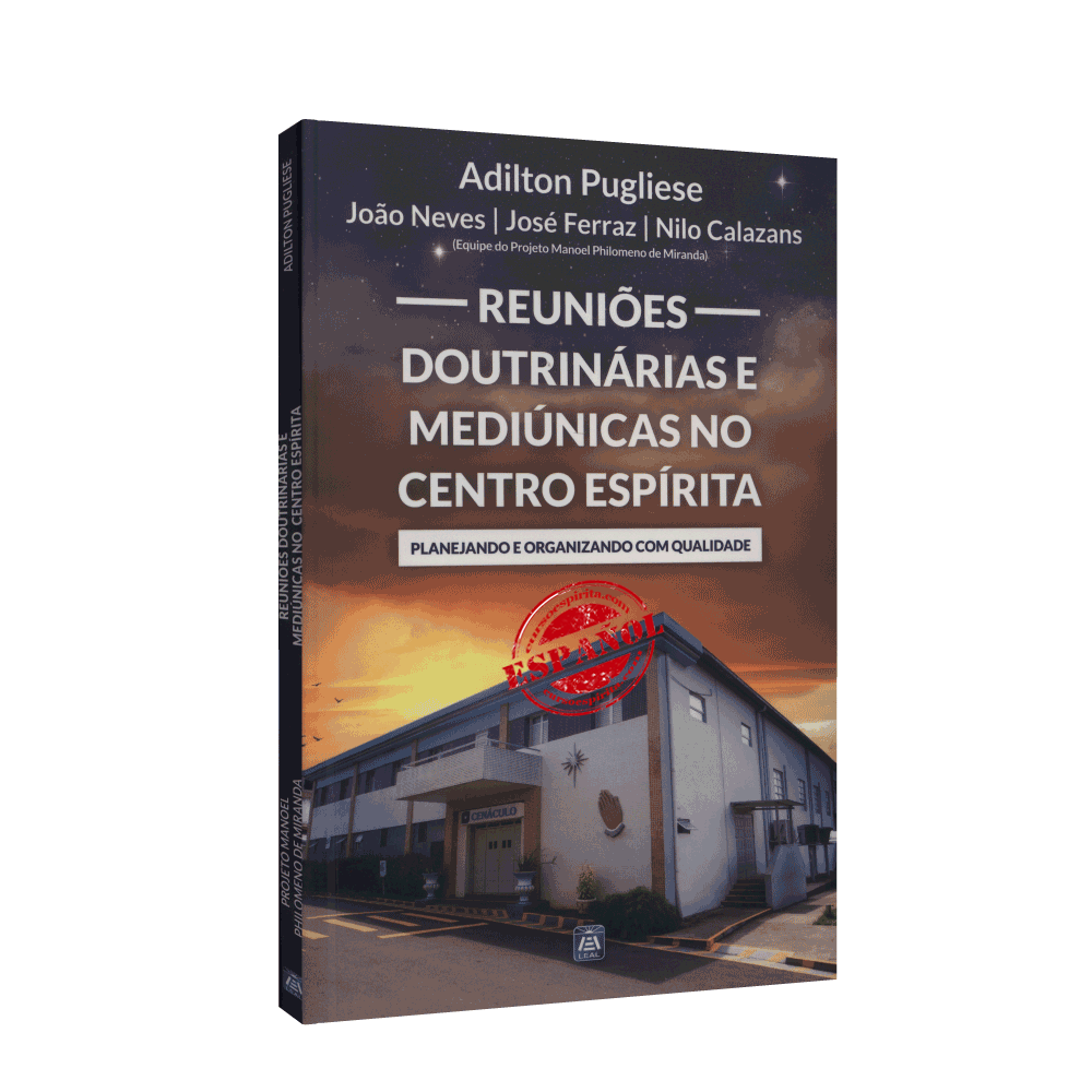 Portada Reuniones Doctrinarias y Mediúmnicas en el Centro Espírita