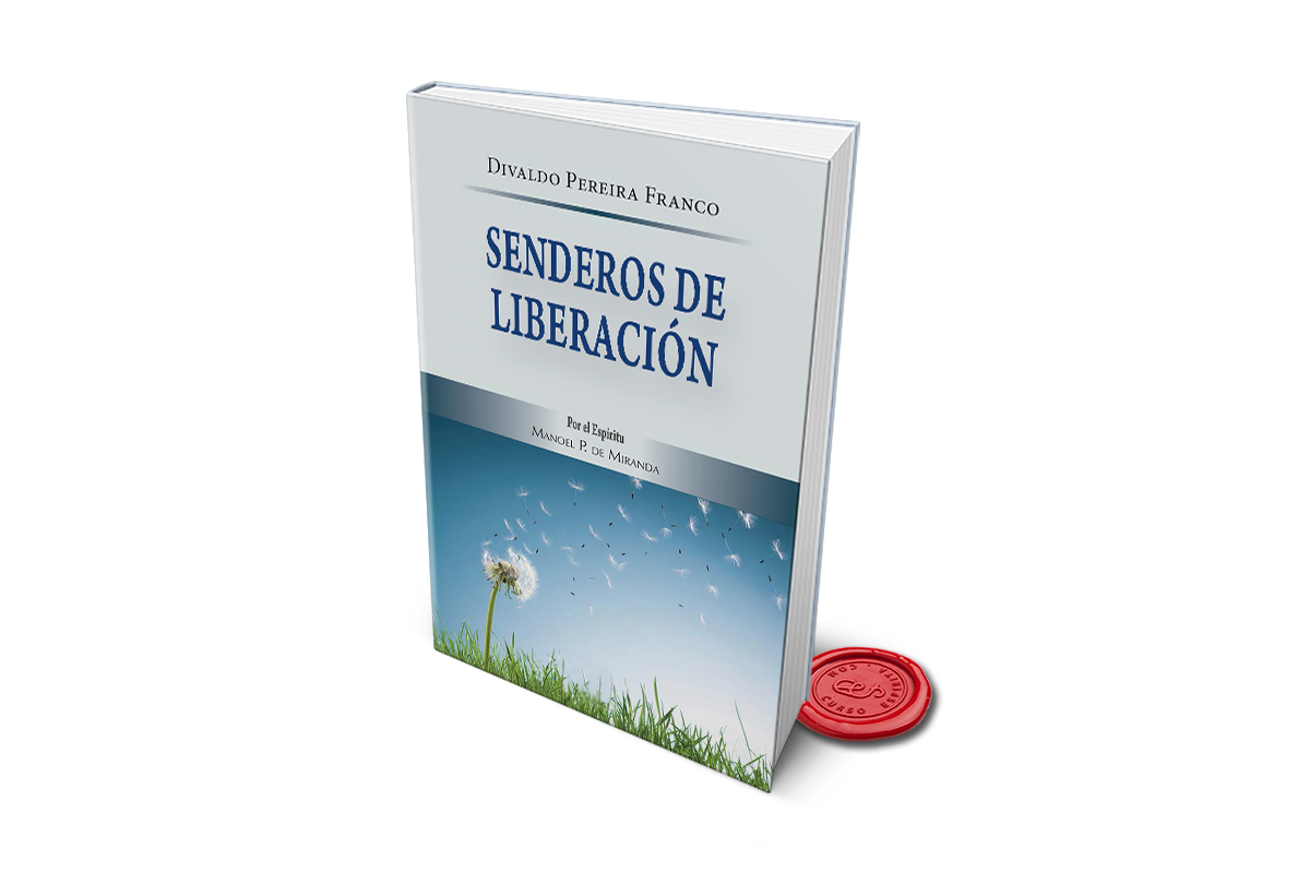Portada Senderos de Liberación de Divaldo Pereira Franco