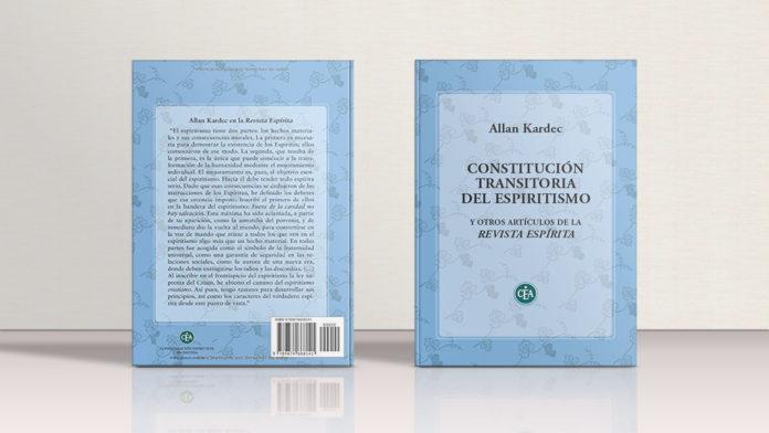 Portada Constitución Transitoria del Espiritismo