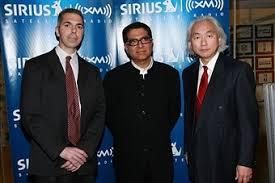 El Dr Robert Lanza con el físico Michio Kaku y Deepak Chopra