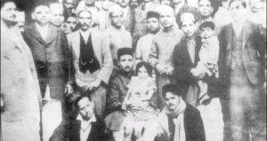 Shanti Devi con su familia
