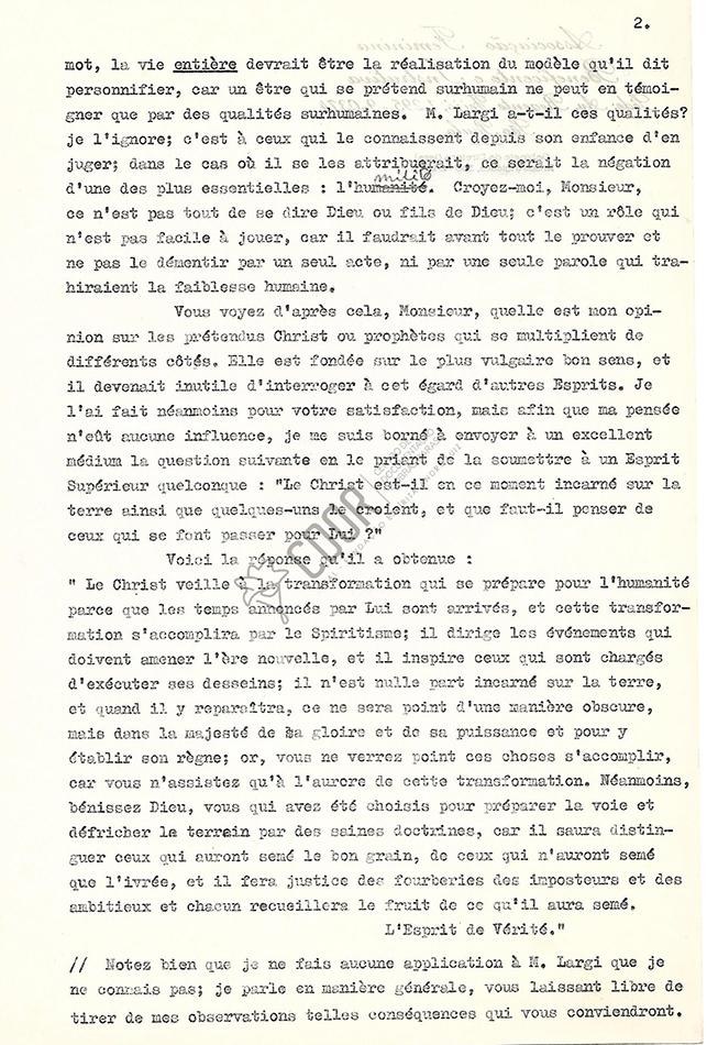 Transcripción Carta de Allan Kardec a Hildebrand 17-08-1861 2